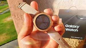 Samsung Galaxy Watch Rose Gold Review  U2013 Smartwatch Review