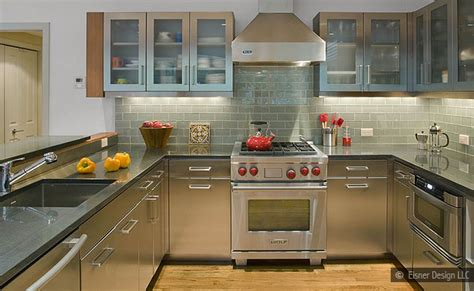 Gray Cabinets Countertop Backsplash Idea