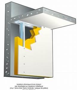 Isolation Sonore Mur : isolation phonique prix pour insonoriser mur plafond et ~ Premium-room.com Idées de Décoration