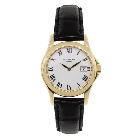 Patek Philippe 4906J-001 Calatrava 18k Gold Ladies Watch