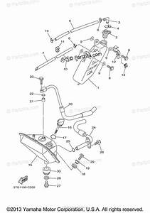 Yamaha Atv 2005 Oem Parts Diagram For Oil Tank