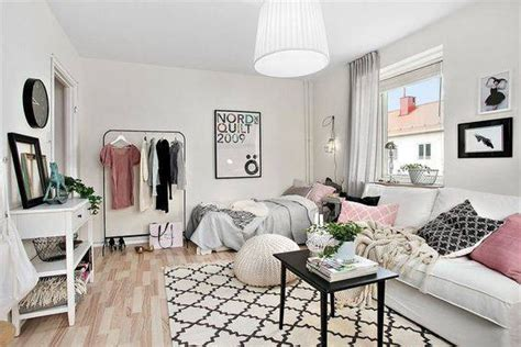 Decorating Ideas For Small One Bedroom Apartment by Add Some Luxurious Space With These 5 Tips To A Tiny Studio