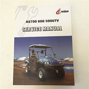 Sell Hisun Hs700utv  Hs600utv  Hs500utv Service Manual Incl