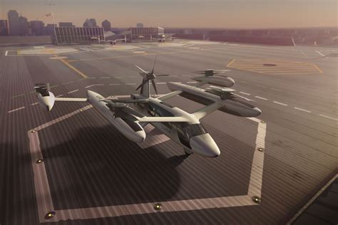 """Uber Reveals Its Latest """"flying Car"""" Prototype For Aerial"""