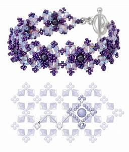 1000 Ideas About Beaded Bracelet Patterns On Pinterest