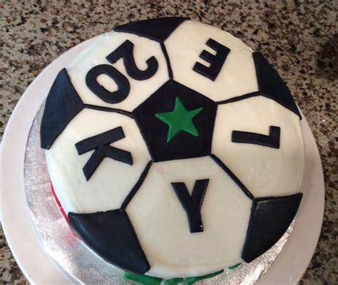 quick soccer ball cake cakecentralcom