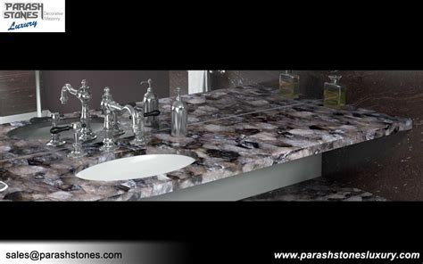 Semi precious stone slab furniture wholesale price