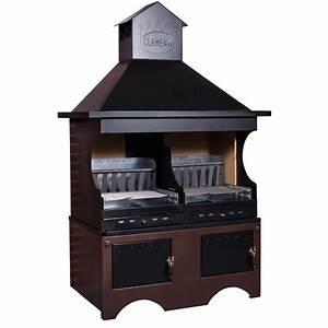 Barbecue Gaz Et Charbon : barbecue clementi xxl ~ Dailycaller-alerts.com Idées de Décoration