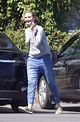 Baby Bump Watch! Cameron Diaz Spotted Covering Her Stomach ...