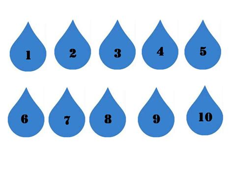 Free Raindrop Writing Template, Download Free Clip Art
