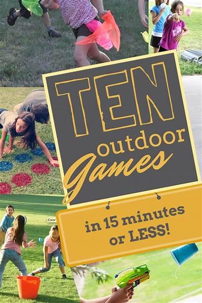 Games Outdoor Backyard Party Outside Play Fun