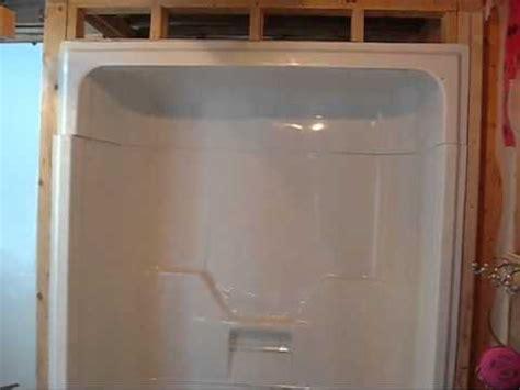 3 tub shower installing a maxx aspen 3 tub shower day 2