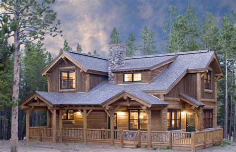 swiss chalet house plans mountain home exteriors rustic exterior denver by