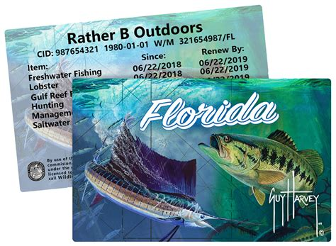 license licenses card hard fish cards hunt credit fl stamps packages charge include