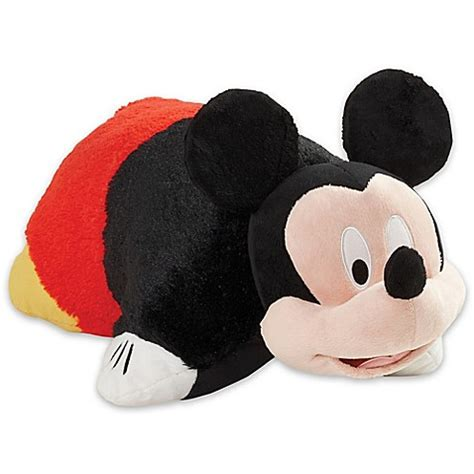 mickey mouse pillow pillow pets 174 disney 174 mickey mouse folding pillow pet bed