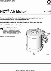 Graco 312796r Nxt Air Motor Users Manual Motor