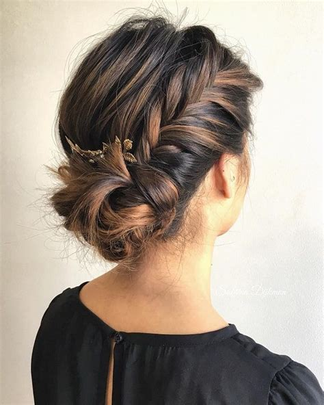 layered haircuts medium best 25 braided buns ideas on how to braid 4160