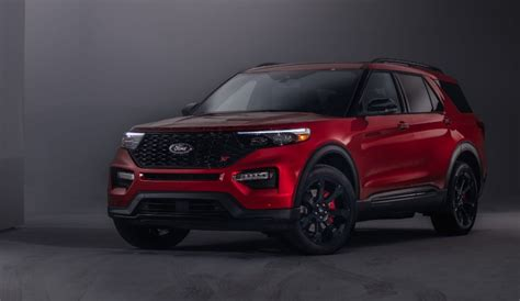 ford explorer st colors release date interior