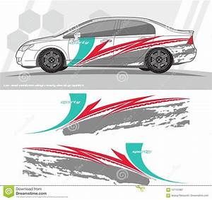 Car And Vehicles Decal Graphics Kit Designs. Ready To ...