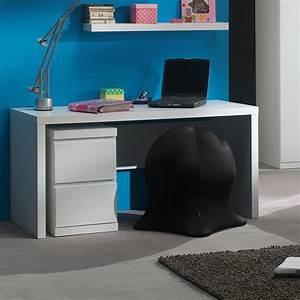 bureau fille ado bureau avec banc laqu blanc with bureau With couleur pour salon moderne 11 bureau enfant guide dachat kibodio