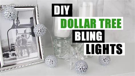 diy dollar tree bling decor lights diy string lights