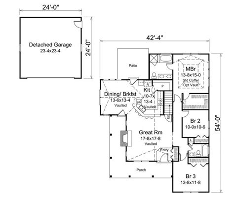 traditional craftsman house plans cabin cottage country craftsman ranch traditional house