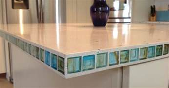 how to make a kitchen island with seating counters with tile inlays the concrete network