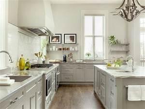 two tone white gray kitchen floating shelves gray With kitchen colors with white cabinets with louis vuitton wall art