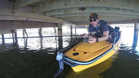 Fishing Boat Docks For Bass by Fishing Under Boat Docks For Bass Using A Kayak