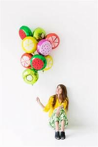 DIY Fruit Slice... Balloons