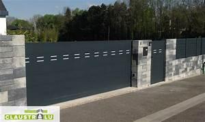 Modele De Portail Coulissant : portails automatiques coulissants aluminium collection ~ Premium-room.com Idées de Décoration