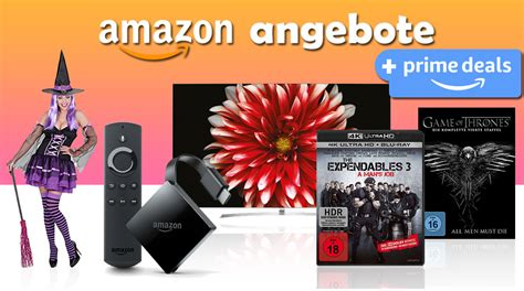 Amazon Angebote + Prime Deals (halloween) Uvm  4k Filme