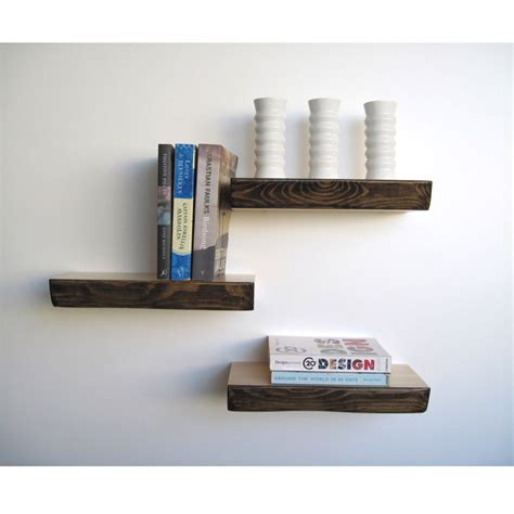 and the shelf bark floating shelf homeware furniture and gifts mocha