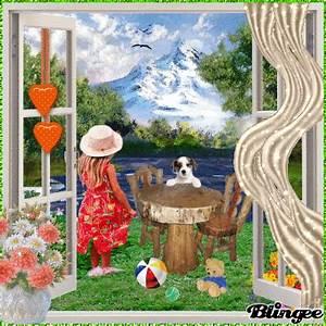 Blick Aus Dem Fenster Poster : blick aus dem fenster picture 135078869 ~ Markanthonyermac.com Haus und Dekorationen