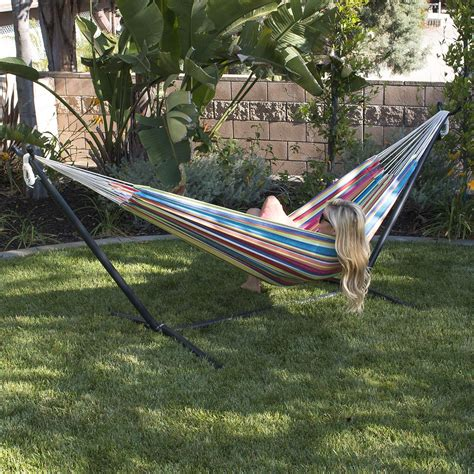 Hammock Kit by New 10ft Hammock Heavy Duty Space Steel With Stand
