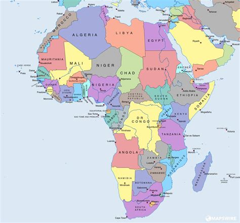 How Many Countries In Africa?  The Exact Number! Africanism