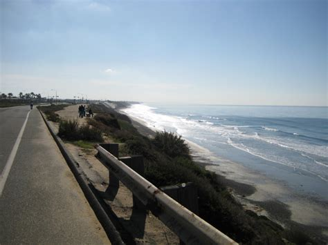 pacific coast highway mission beach  oceanside cycling