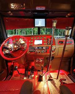 Peterbilt custom 379 interior | Big Trucks | Pinterest ...