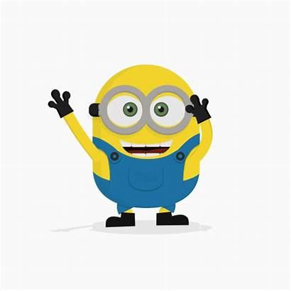Bye Clipart Minion Minions Animation Happy Funny