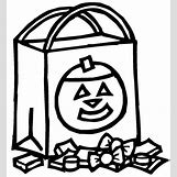 Trick Or Treat Bag Coloring Pages | 500 x 543 jpeg 44kB