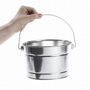 Galvanized, Metal, Paint, Bucket, -, Baskets, Buckets, U0026, Boxes, -, Home, Decor