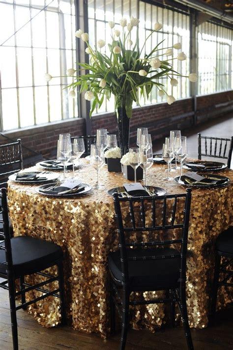 best 25 black tablecloth wedding ideas black tablecloth gold glitter tablecloth