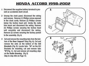 2002 Honda Accord Installation Parts  Harness  Wires  Kits