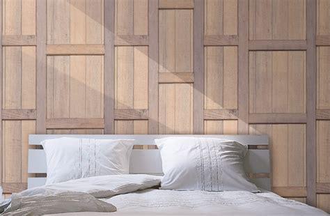femme de chambre lyon papier peint trompe l 39 oeil bois imitation bois foncé acajou
