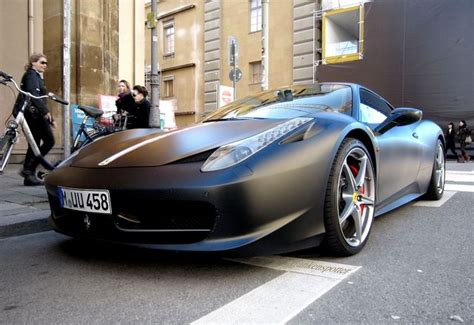 Frequent special offers and discounts up to 70% off for all products! Matte Black Ferrari 458 Italia   My Happy Place   Pinterest