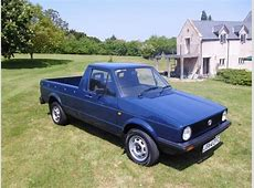 1991 Volkswagen caddy pick up truck 42000 miles SOLD Car