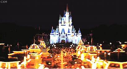 Disney Gifs Kingdom Castle Florida Walt Magic