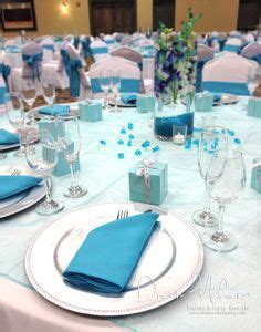 image result  turquoise silver  white wedding decor