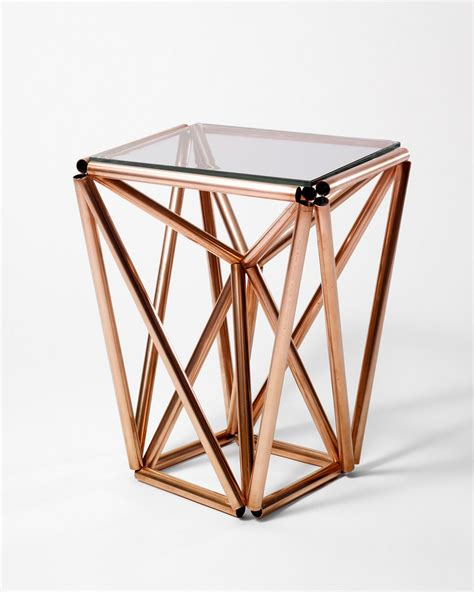 glass tube table l 60 diy copper projects