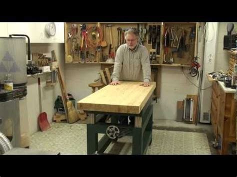 jim stack simple woodworking height adjustable bench